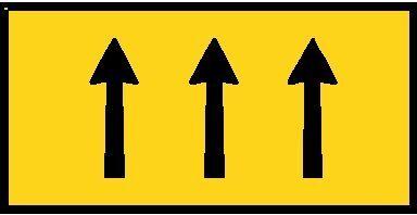 3 Lane Status sign