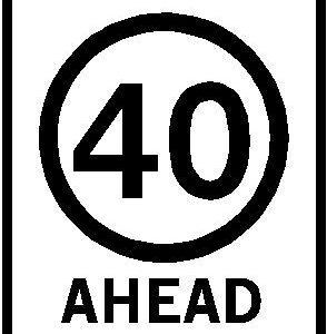 40km/h Ahead