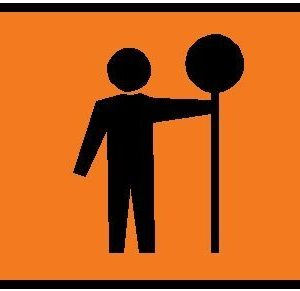 Traffic controller sign