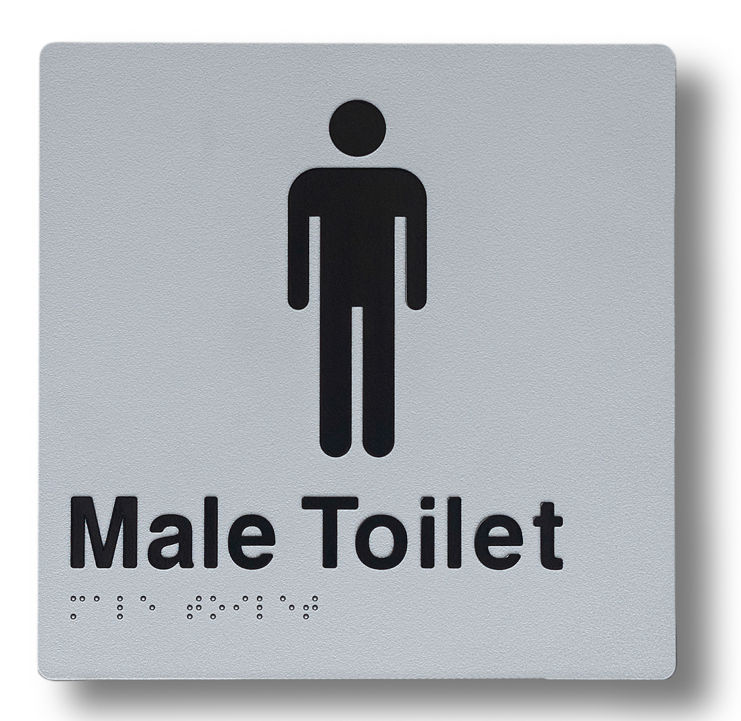Braille sign - Male Toilet