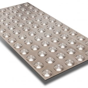 tactile indicator stainless steel plate