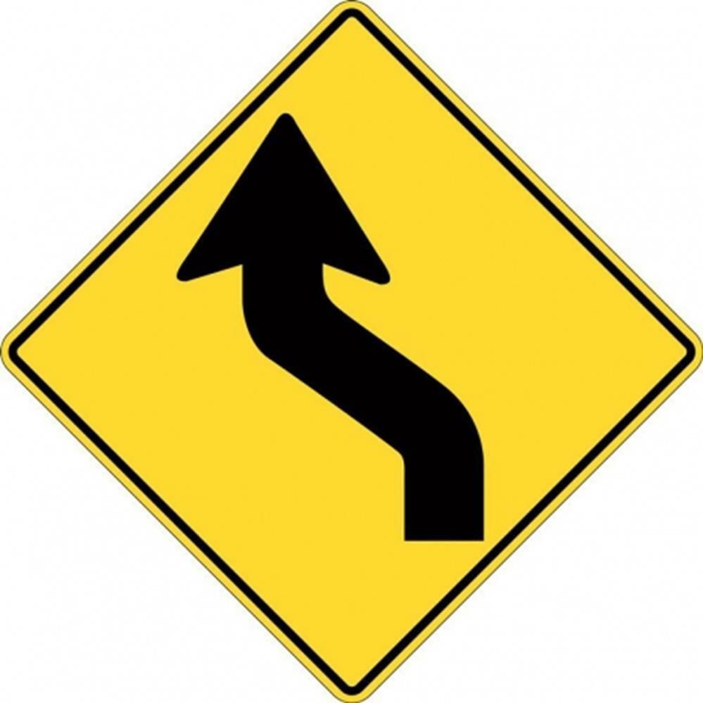 curve sign