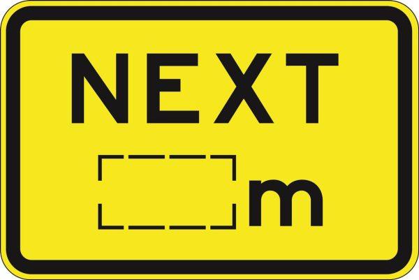 Next _M sign