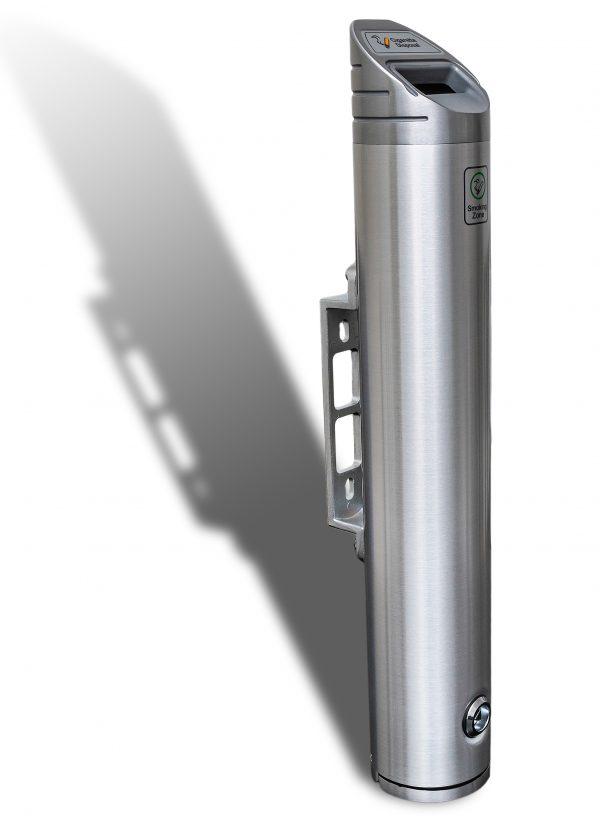 wall mounted cigarette bin