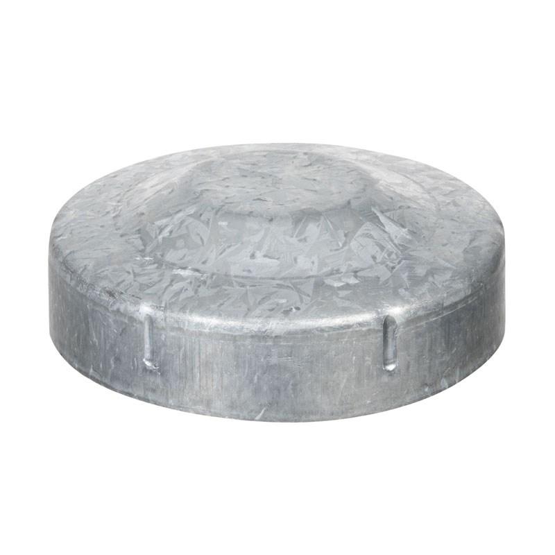Galvanised Post Cap