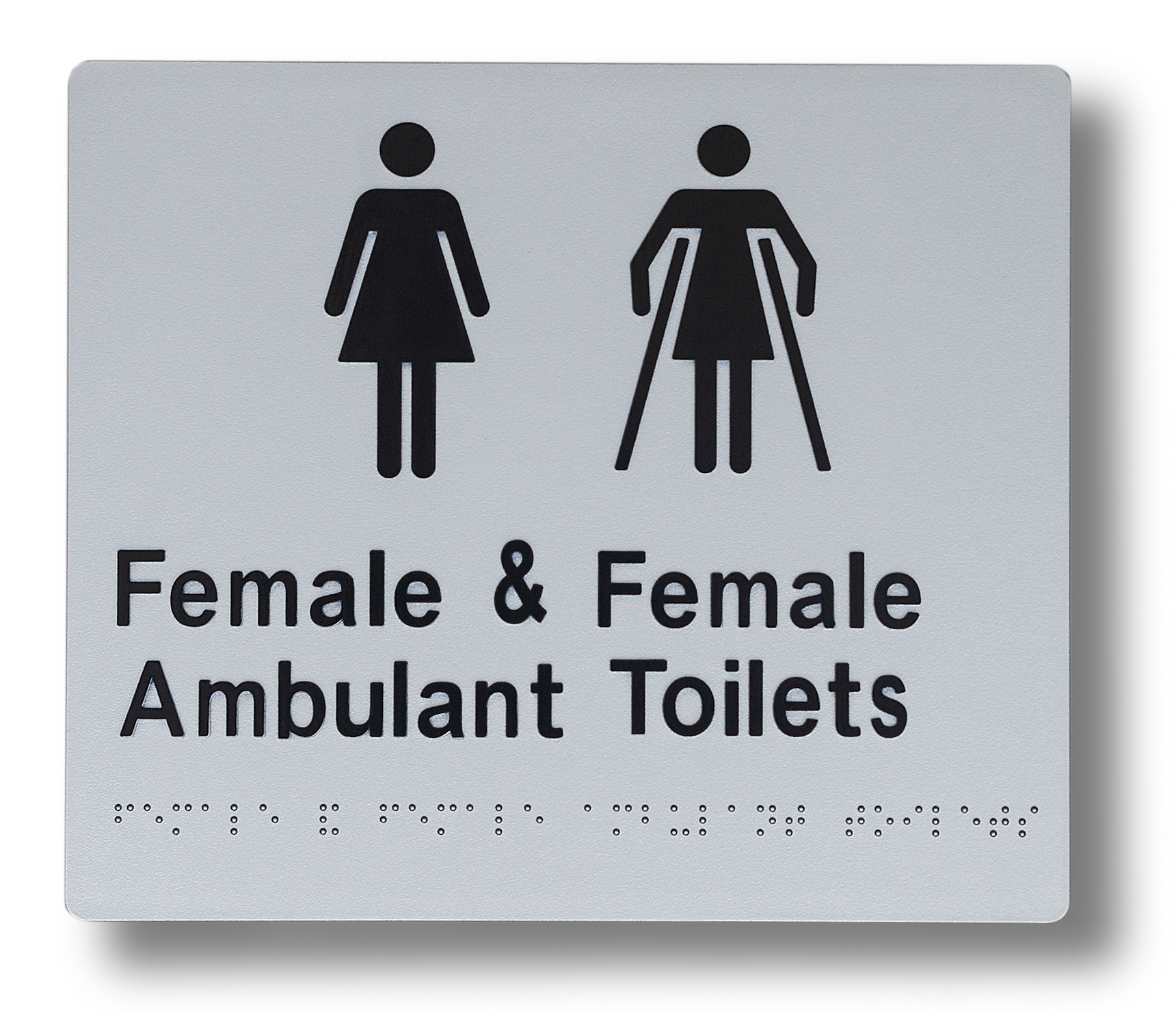Braille sign - Female sign