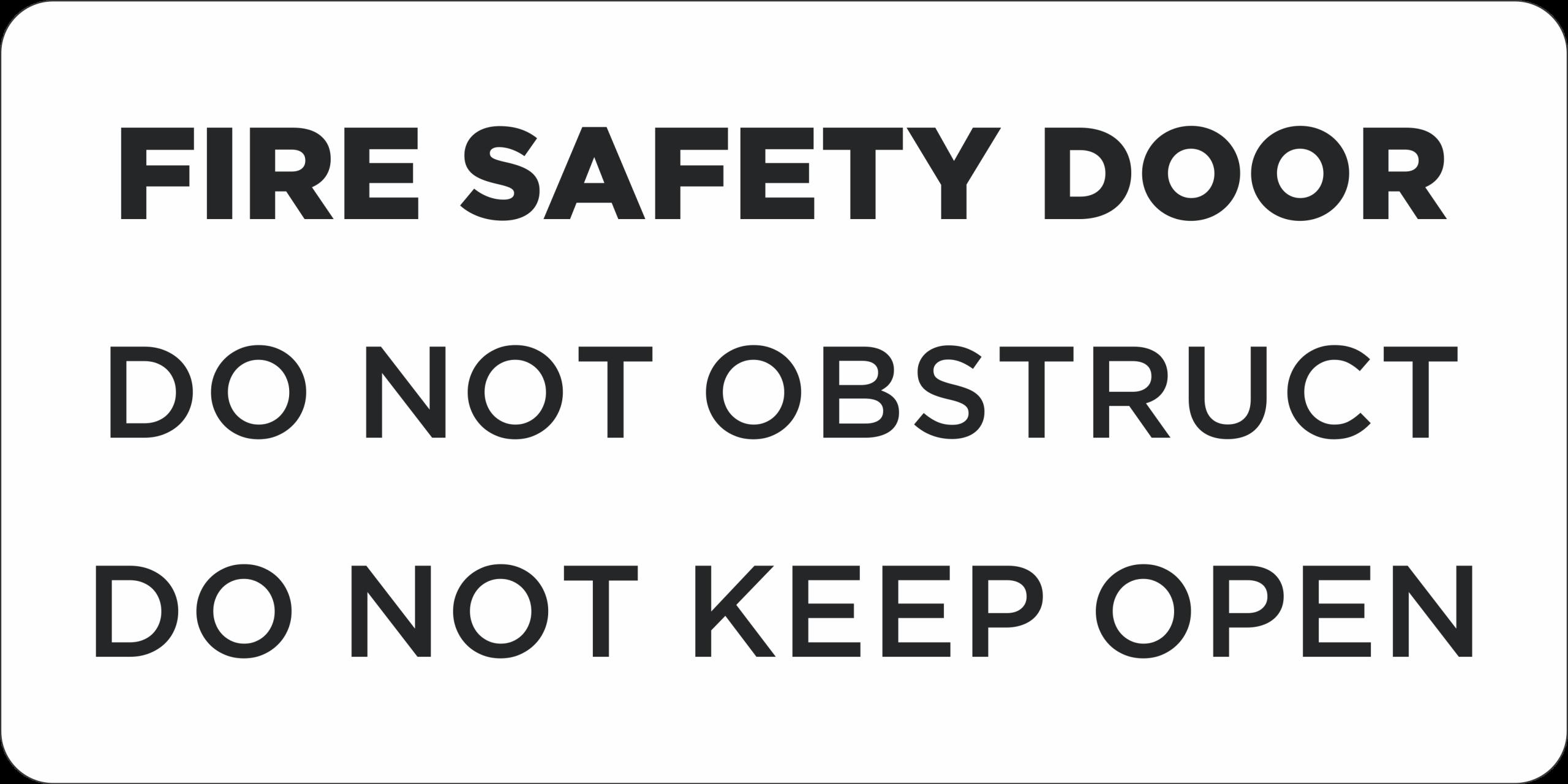 Fire Safety Door