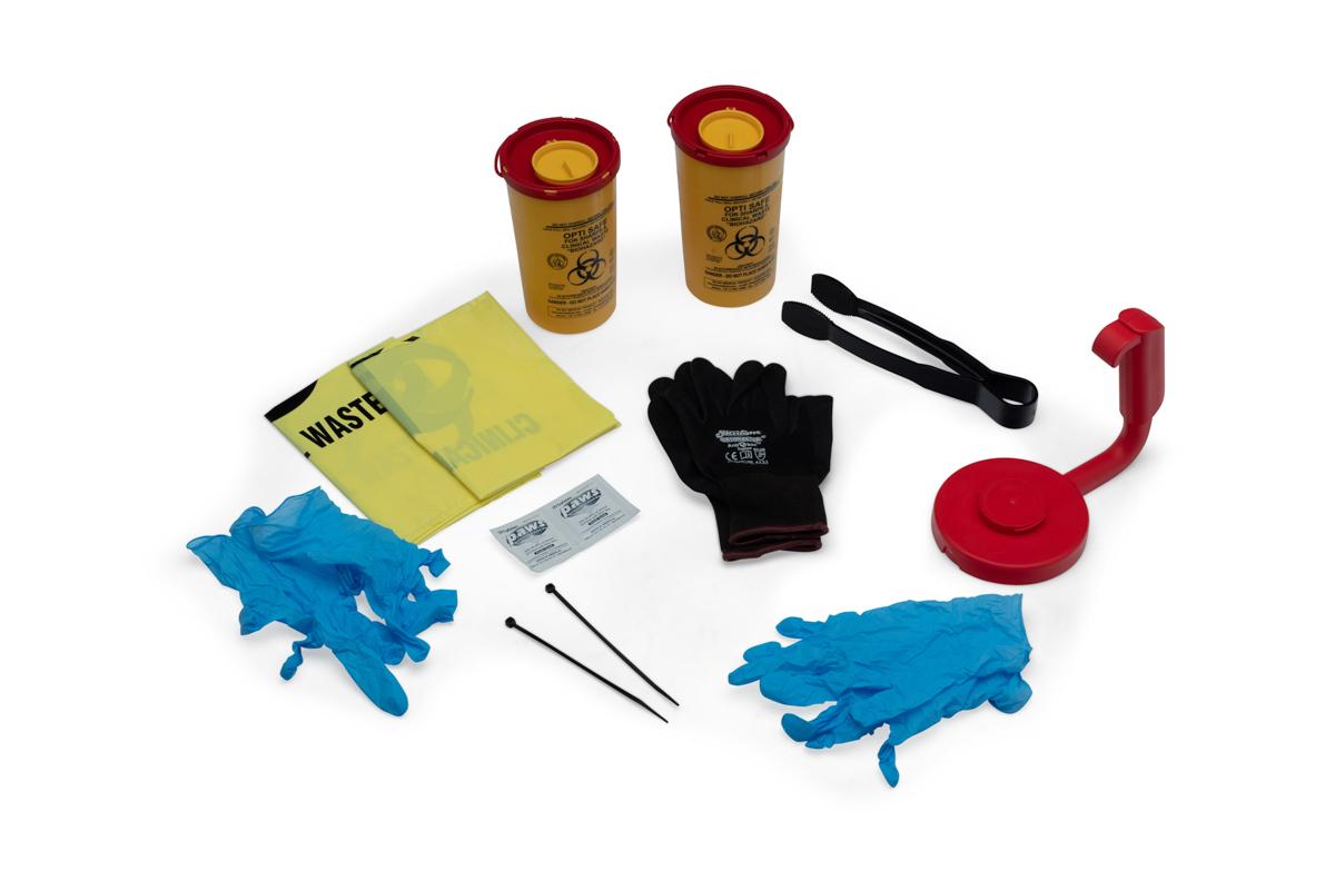 Sharps collection kit