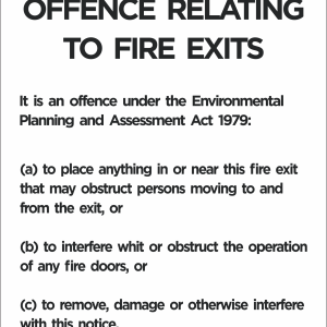 Fire & Statutory Signs