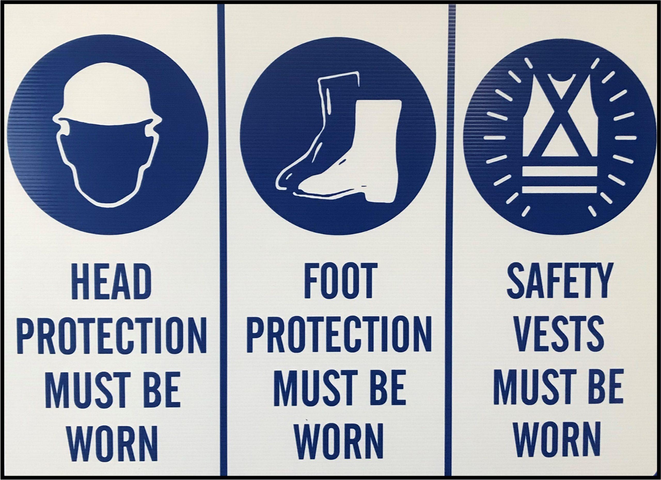safety vest sign